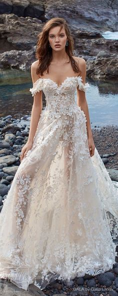 GALA by Galia Lahav Wedding Dress Collection Ready for some impossibly beautiful bridal gowns? GALA by Galia Lahav Wedding Dress Collection has it all. This is one stunning bridal collection that's guaranteed to take your breath away! Wedding Dresses 2018, Designer Wedding Dresses, Bridal Dresses, Dresses Dresses, Sheer Wedding Dress, Tulle Ballgown Wedding Dress, Wedding Designers, Mermaid Dresses, Bridal Collection