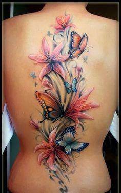 tattoos costas femininas - Pesquisa do Google