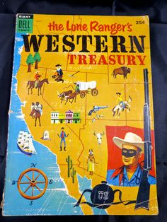 Lone Ranger's Western Treasury Giant Dell by BonniesVintageAttic, $35.00
