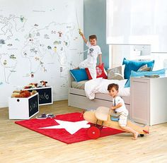 4 A 8 AÑOS - DORMITORIOS INFANTILES | MICASA Revista de decoración