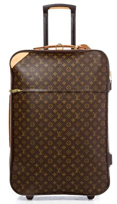 Save up to on new & preowned Louis Vuitton, Chanel, Michael Kors & more with Tradesy. Sell what's in your closet today to buy what you want to wear tomorrow. Louis Vuitton Luggage, Louis Vuitton Handbags, Louis Vuitton Monogram, Luxury Luggage, Luxury Bags, Cute Luggage, Luggage Bags, My Bags, Purses And Bags