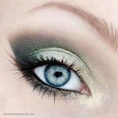 #Makeup #Blue #Eyes #Maquillage #Bleu #Yeux #Soirée #Journée #Night #Day