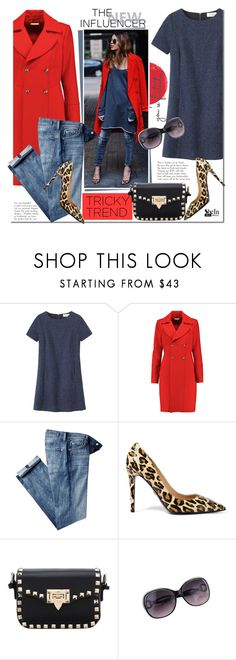 """""""Tricky Trend: Dress and Pants"""" by mada-malureanu ❤ liked on Polyvore featuring Toast, Diane Von Furstenberg, 7 For All Mankind, women's clothing, women's fashion, women, female, woman, misses and juniors"""
