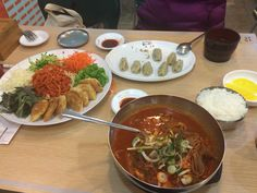 """See 1439 photos from 7519 visitors about dumplings, kimchi, and noodles. """"Only 4 items on the menu. 2 cold noodle, 1 soup noodle and gyoza. The soup. Cold Noodles, Kimchi, Dumplings, Thai Red Curry, Spicy, Soup, Korean, Menu, Ethnic Recipes"""