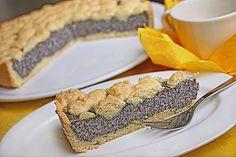 Mohn - Pudding - Kuchen Lecker Mohn #Kuchen #Rezept