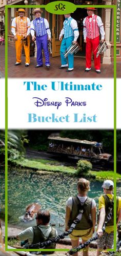 Disney has a ton of rides and shows, but did you know there's even more fun stuff to do? Check out this awesome Disney Parks Bucket list with some of the most outrageous things you can do! | #Disney #DisneyParks #Disneyland #DisneyWorld #DapperDay #VIP #Epcot #EpcotFestival #FoodandWineFestival #FlowerandGardenFestival #FestivaloftheArts #DisneyFestivals #BucketList #DisneyBucketList
