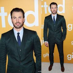 More Photos: Chris Evans at the Los Angeles Premiere of #GiftedMovie!