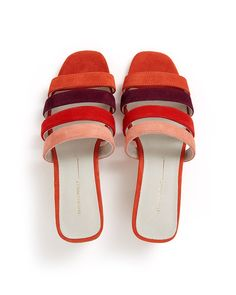 04212b8a9c7 joy color block heel by intentionally blank - shoes - ban.do Vintage  Swimsuits