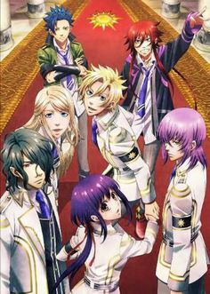 if they make this in to a show i would  so love it  Kamigami no Asobi