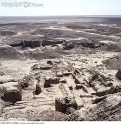 Ruins of Uruk. Uruk was an ancient city of Sumer and later Babylonia, situated east of the present bed of the Euphrates river, on the dried-up, ancient channel of the Euphrates River, some 30 km east of modern As-Samawah, Al-Muthannā, Iraq.