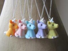 cute pony necklaces - Magic Cupcake Jewellery is an emerging, colourful, cute jewellery brand inspired by 'Kawaii' Japanese fashion.