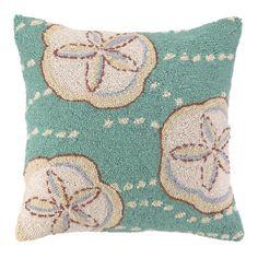 Sand Dollar Bay Pillow.
