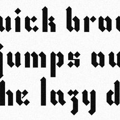Modern Blackletter Font In Lowercase Gothic Script Interpretation Shutterstock Picmid475026157