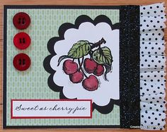 July Stamp of the Month - Sweet Life - Create with Alyson: July SOTM Blog Hop - Sweet Life