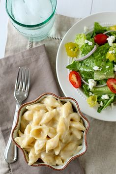 Very good, especially the following days.  Great reheated. - Panera Mac and Cheese  –  Annie's Eats