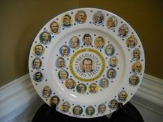 Richard M. Nixon Presidents of The United States Collectors Plate | eBay
