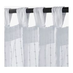 IKEA MATILDA sheer curtains, 1 pair