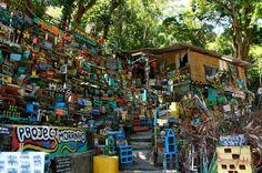 Projeto Morrinho is a mini favela in Vila Pereira da Silva, a favela in Rio de Janeiro. This is not a typical favela tour o sightseeing tour, find out Childhood Games, Brazil, The Neighbourhood, Brick, Recycling, Construction, Community, Tours, Pereira