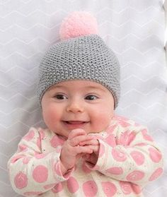 Newborn Cozy Cap   If this adorable knit baby hat doesn't make you squeal, I don't know what will.