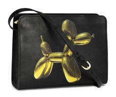 GOT IT FOR MY BIRTHDAY THANKS MUM!!!!! Jeff Koons ontwerpt tas voor HM - want want want €36