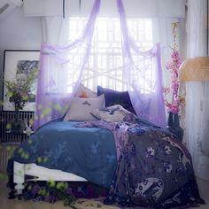 Luxurious fairytale bedroom | Modern decorating ideas | housetohome.co.uk