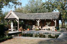 Buitenkeukens-APEikenhoutconstructies, Luxe tuinhuizen en bijgebouwen van duurzaam eiken