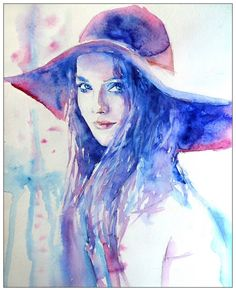 In the lilac hat by ~LORETANA on deviantART