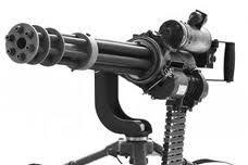 GAU-17 Mini gun