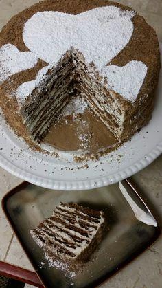 Chocolate Spartak Cake recipe from natashakitchen.com