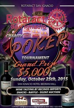 Rotaract Charity Poker Tournament