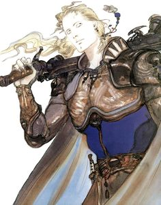 Edgar Roni Figaro - Pictures & Characters Art - Final Fantasy VI