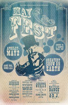 circus poster design - Buscar con Google