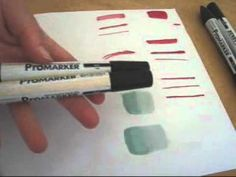 Promarkers Coloring Tips, Colouring, Card Tutorials, Video Tutorials, Fashion Illustration Tutorial, Color Crayons, Spectrum Noir, Ink Wash, Alcohol Markers