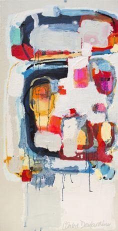 """Anticipation"" Painting, Claire Desjardins"