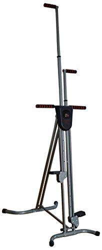 BalanceFrom Vertical Climber with Cast Iron Frame and Digital Display – Exercise Machines