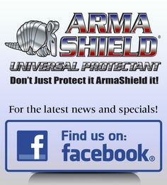 Follow ArmaShield on Facebook! We often run product specials. ArmaShield maintains and helps restore the new look and feel of virtually all surfaces. Creates a durable finish that guards against sun damage caused by UV light. #armashield #vinylprotection #rvprotectant #protectmycar