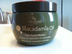Product Review/ Dupe: Hair Chemist Macadamia Oil Deep Repair Masque Natural Hair Tips, Natural Hair Growth, Natural Hair Journey, Natural Hair Styles, Macadamia Oil, Hair Products, Beauty Products, Beauty Secrets, Beauty Tips