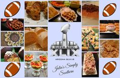 Julia's Simply Southern: The Superbowl Party Collection