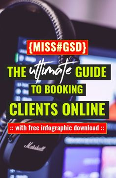 """It is the sound that echoes across boss lady Facebook Groups every day :: """"What's the best tool for me to use when it comes to booking or scheduling appointments with clients?""""  And this is the answer…"""