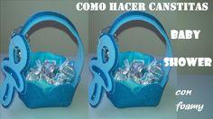 COMO  HACER DULCERO BABY SHOWER / RECUERDO/BAUTIZO