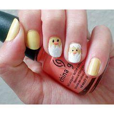 Easter/spring nail art!