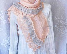 Купить Оригинальные женские вязаные митенки - специальная рубрика, стиль, мода, осень, мода 2016