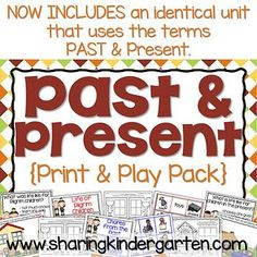 Thanksgiving kindergarten printable pack