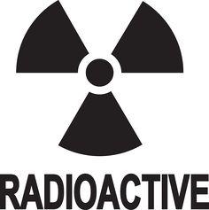 sign, symbol, safety, danger, radioactive, information