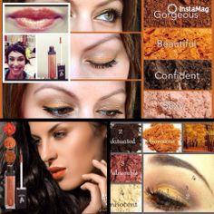 Younique fall makeup