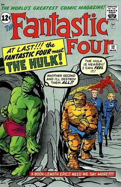 Fantastic Four # 12 by Jack Kirby & Dick Ayers