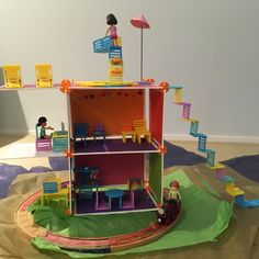 This Roominate townhouse was created by Morgan (age Townhouse, Age, Make It Yourself, Create, Toys, How To Make, Activity Toys, Terraced House, Games