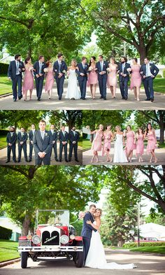 The Wedding Party! Photo Credit: Just For You Photography