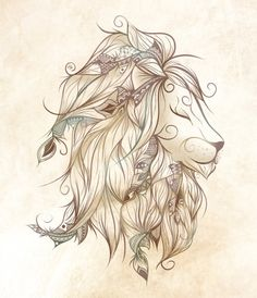 Poetic Lion por LouJah | Señor Cool