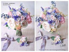 Silk Wedding Bouquets, Silk Flower Bouquets, Diy Bouquet, Wedding Flower Arrangements, Bride Bouquets, Silk Flowers, Dried Flowers, Floral Wedding, Wedding Flowers